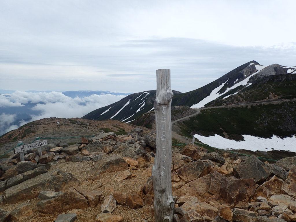 乗鞍岳の富士見岳