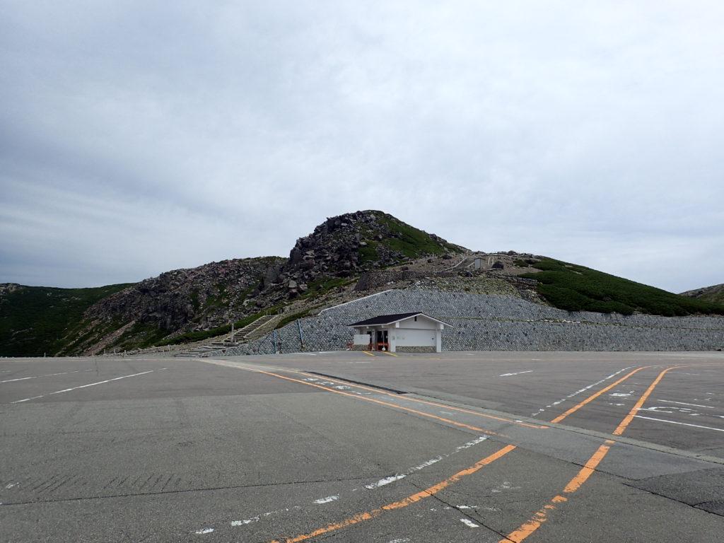 乗鞍岳の魔王岳