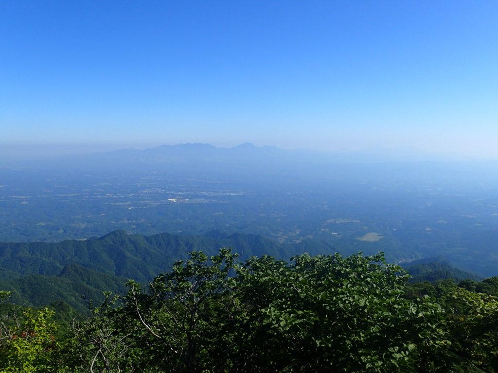 祖母山山頂からの展望