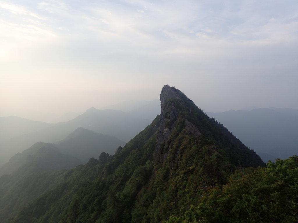 石鎚山の天狗岳