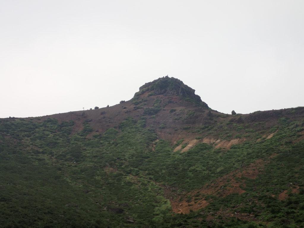 安達太良山山頂(乳首山・ちちくびやま)