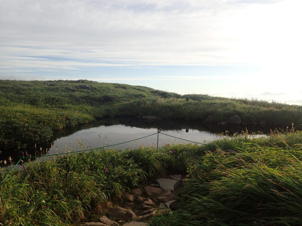 月山の佛生池