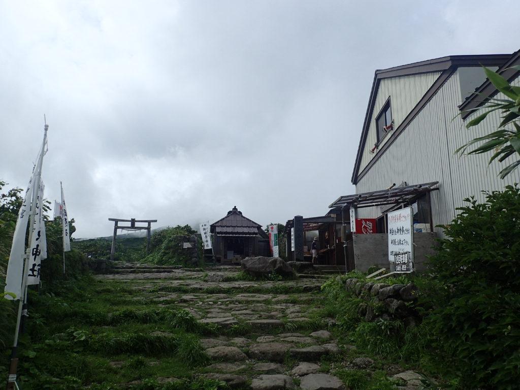 月山の御田原神社