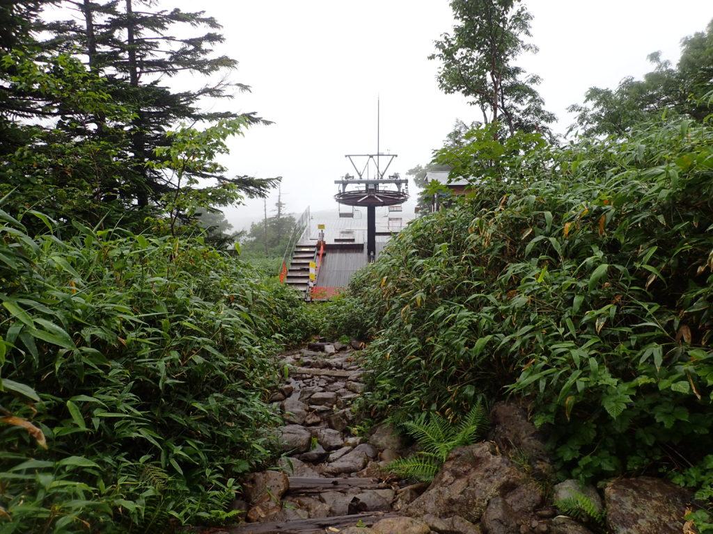 西吾妻山のリフト