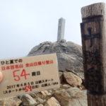 54座目 十勝岳(とかちだけ) 日本百名山全山日帰り登山