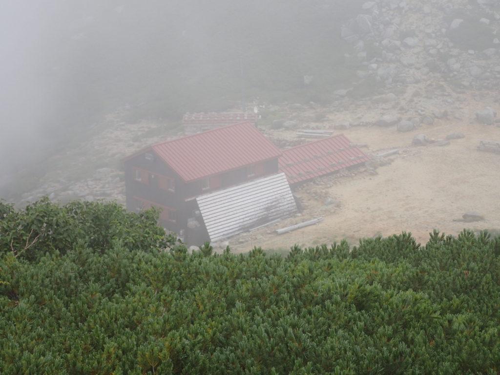 木曽駒ヶ岳の伊那市西駒山荘