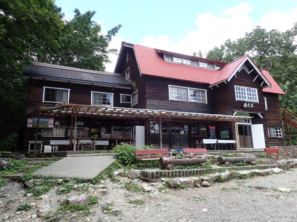白馬岳登山口の猿倉荘
