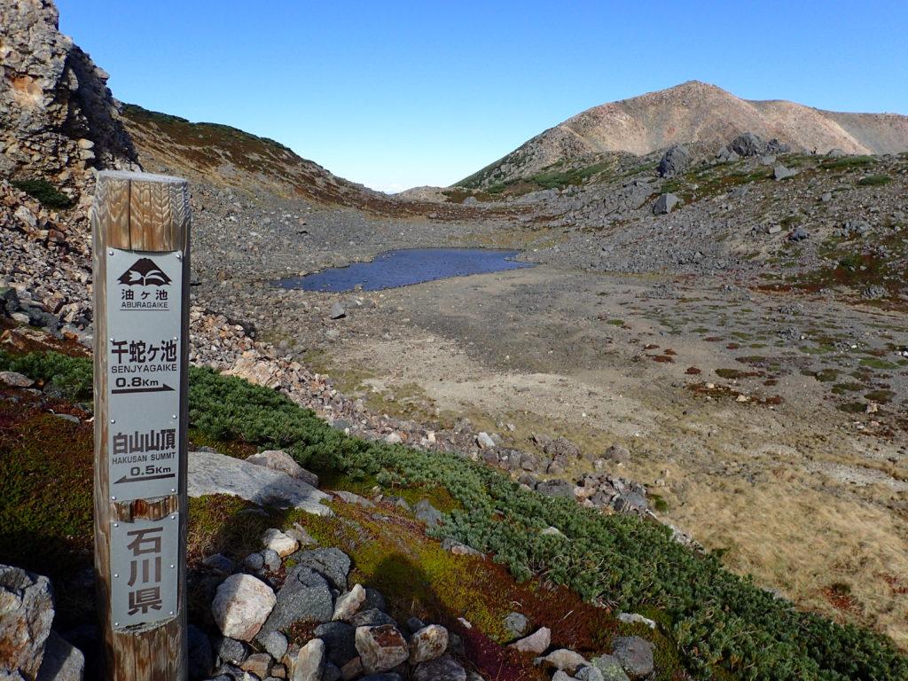 白山の油ヶ池