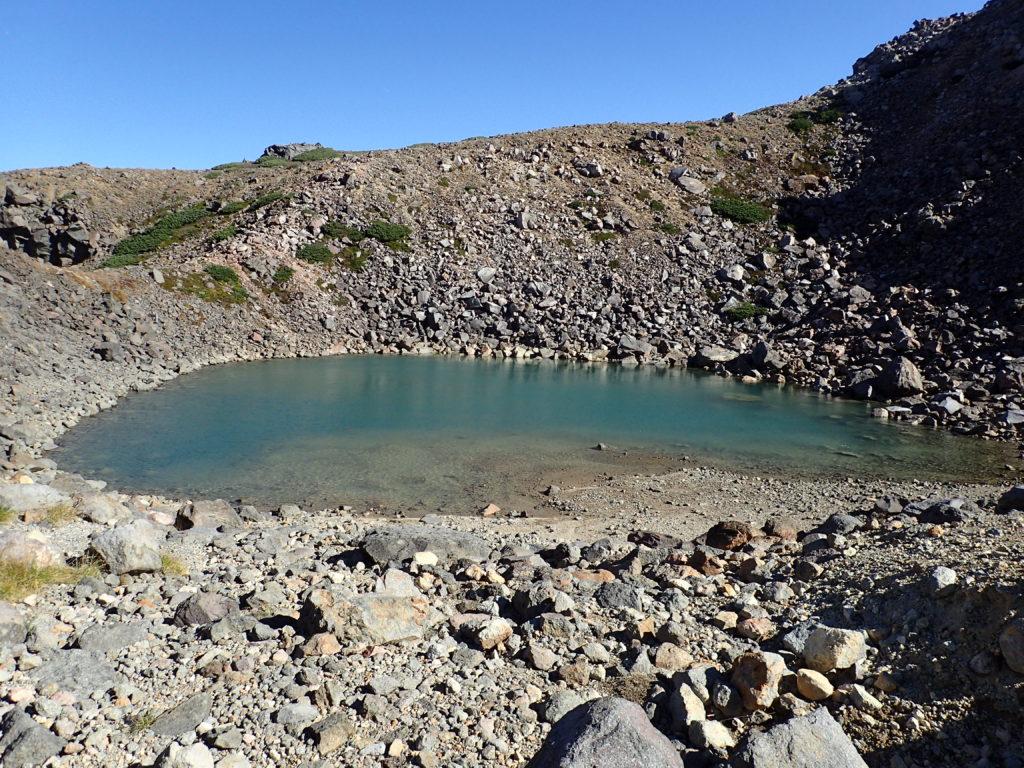 白山の紺屋ヶ池