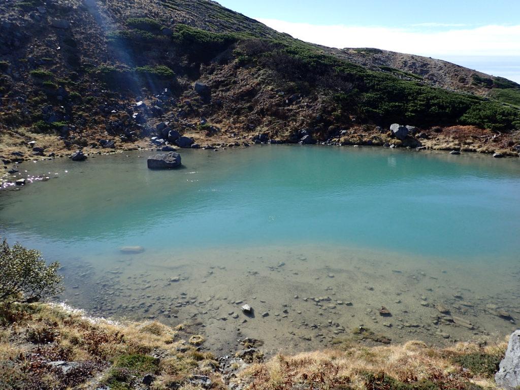 白山のお池めぐりの血の池