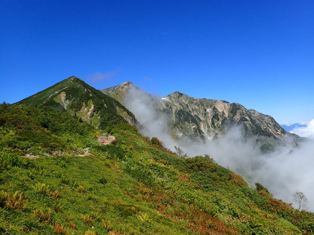 布引岳と鹿島槍ヶ岳