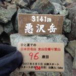 96座目 悪沢岳(東岳) 赤石岳との2座周遊で日帰り最難関<br>日本百名山全山日帰り登山