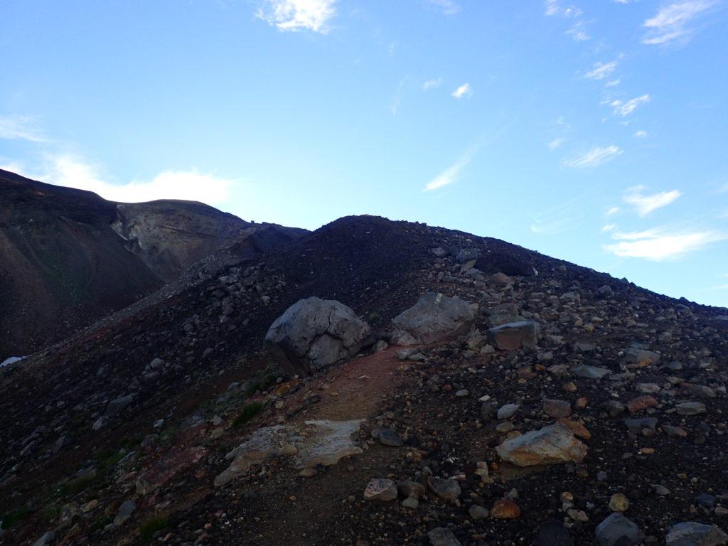 旭岳の登山道