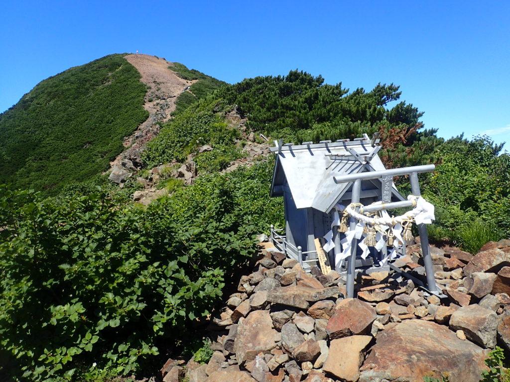 斜里岳神社
