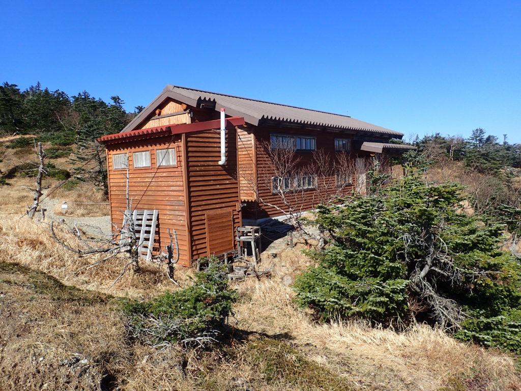 光岳の光小屋