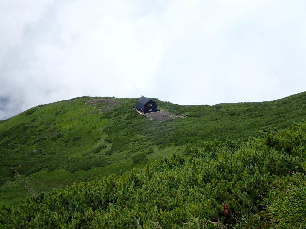 羊蹄山の羊蹄小屋