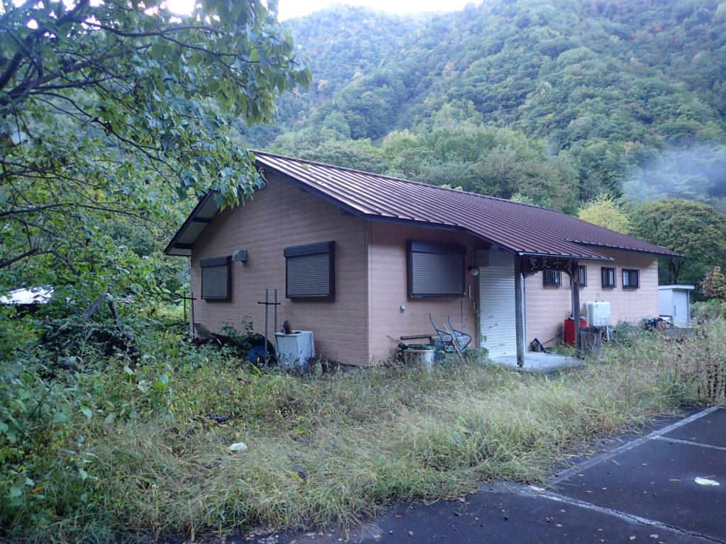 便ヶ島の聖光小屋