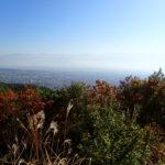 地附山・大峰山で長野市の里山を満喫<br>ツールド長野試走会(2017年11月3日)