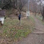 光城山登山口から長峰山を5往復したツールド長野130kトレ<br>(2017年11月27日)