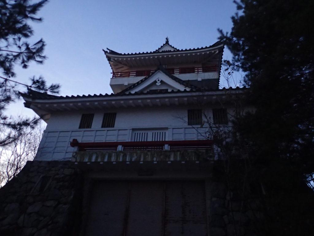 長野県長野市の大峰城