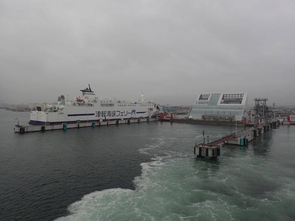 津軽海峡フェリーと函館ターミナル