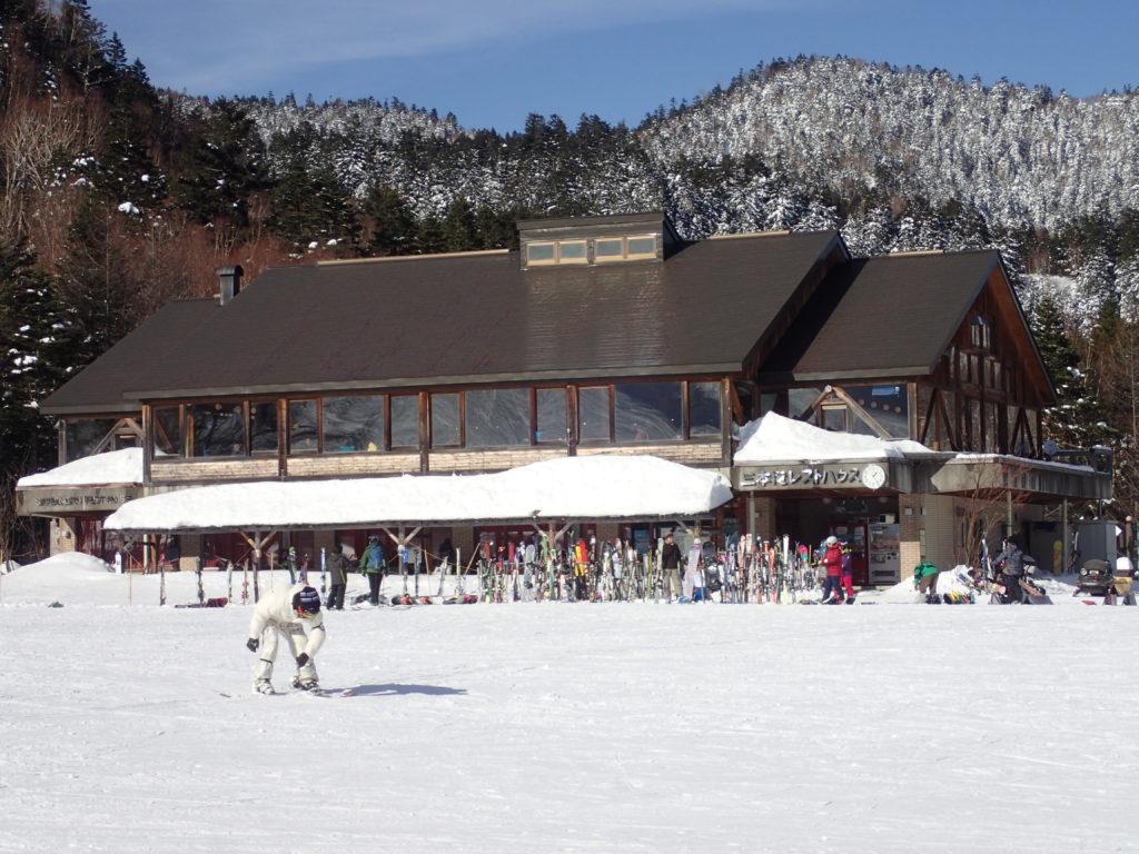 Mt乗鞍スノーリゾートの三本滝レストハウス