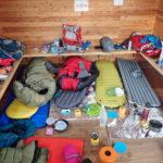とある山での山小屋宴会登山のアルバム