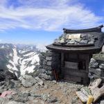 毎年恒例の剱岳早月尾根の日帰り登山(2018年7月21日)