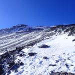 穏やかだった厳冬期の富士山登山<br>2019年1月13日