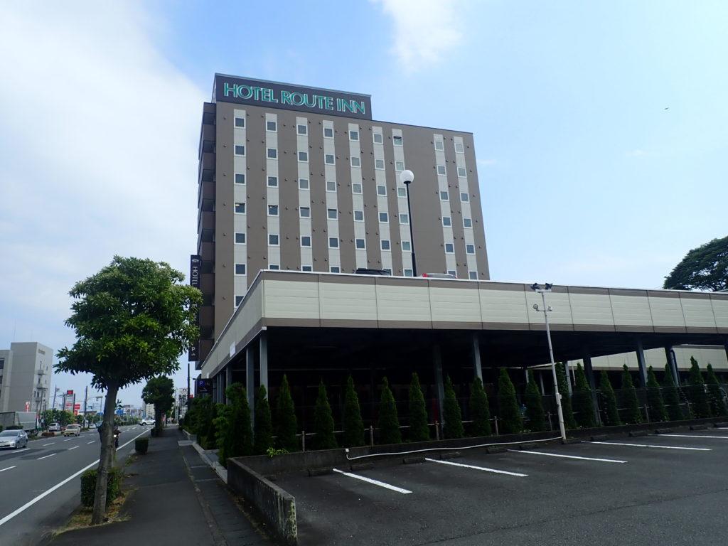 ルートインホテルの外観