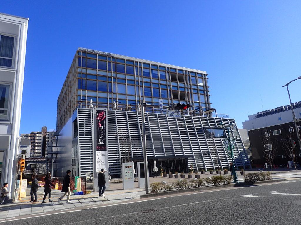 THE NORTH FACE 松本店が入っている松本市の信毎メディアガーデン