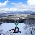 光城山・長峰山での歩荷&トレラントレーニング(2020年3月15日)