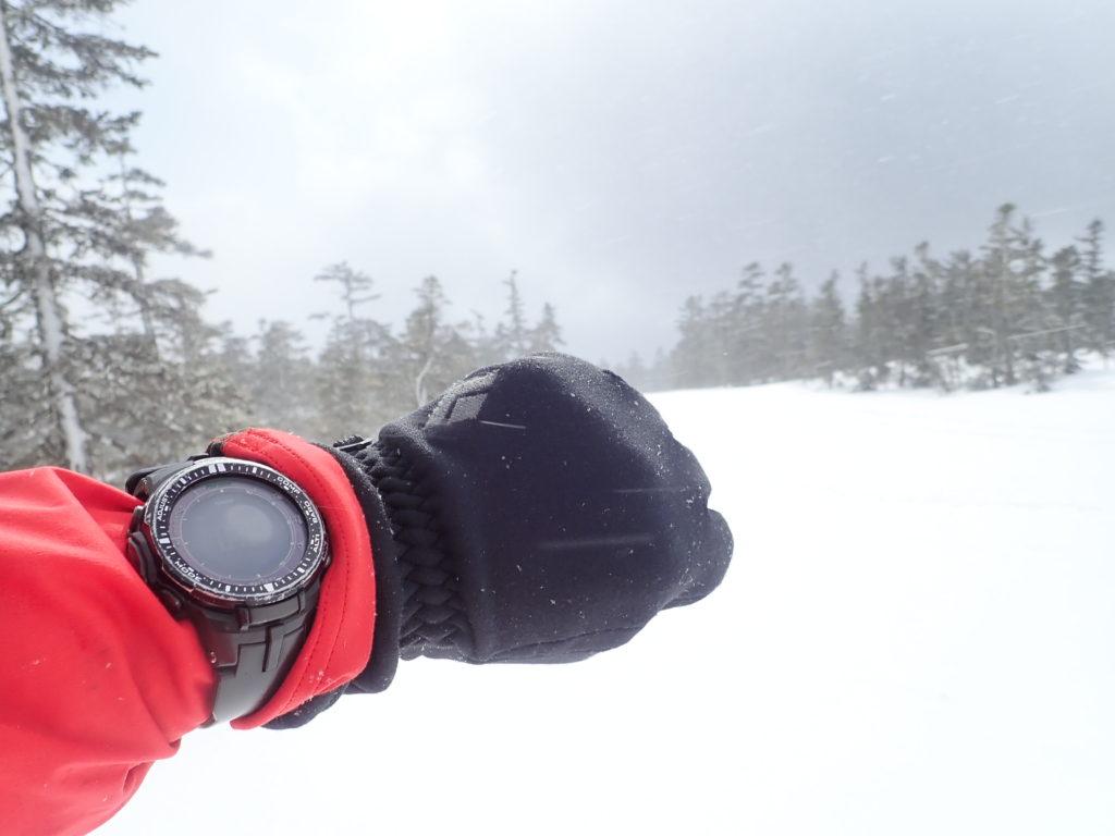 登山とランニングで愛用している腕時計カシオのプロトレックPRW