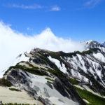残雪の燕岳登山(燕山荘~北燕岳を4往復)2020年5月28日